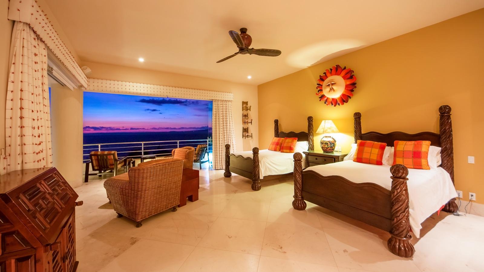 Villa Bahia Puerto Vallarta Bedroom El Sol Suite